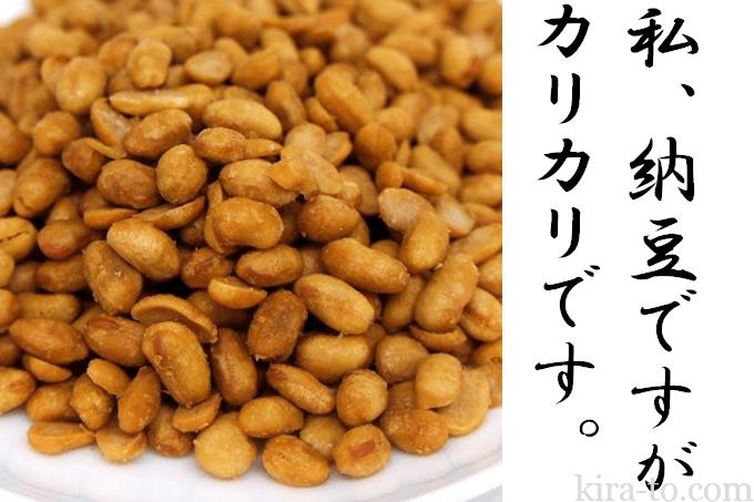 ドライ納豆干し納豆