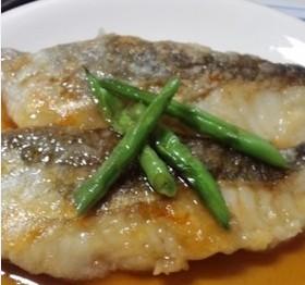 ポン酢で簡単!白身魚の甘酢かけ