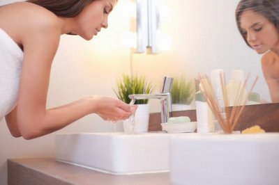 赤ら顔治療洗顔