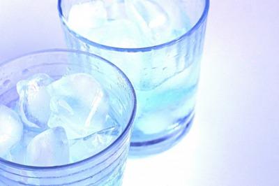 氷水につける