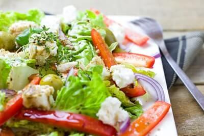 食事サラダ