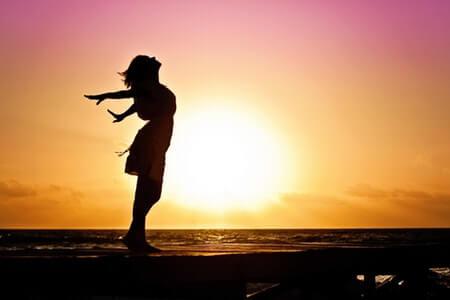 綺麗になりたい女性 太陽