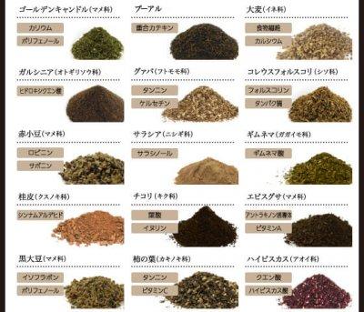 黒モリモリスリム茶葉